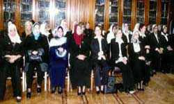 "Women judges were ""appointed"" by a presidential decree in 2007"