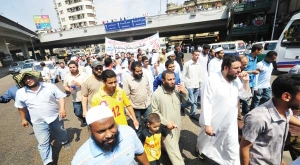 Protesters against OBL murder march to US embassy in Cairo
